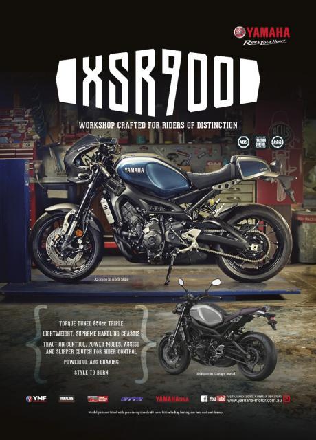 XSR Riders of Distinction Promo